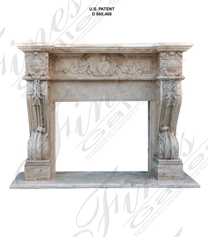 Roman Silver Travertine
