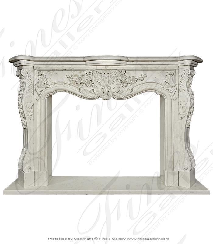 French Style Marble Mantel