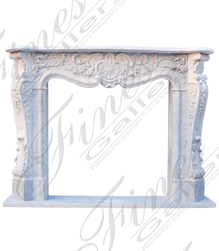 Ornate French Mantel