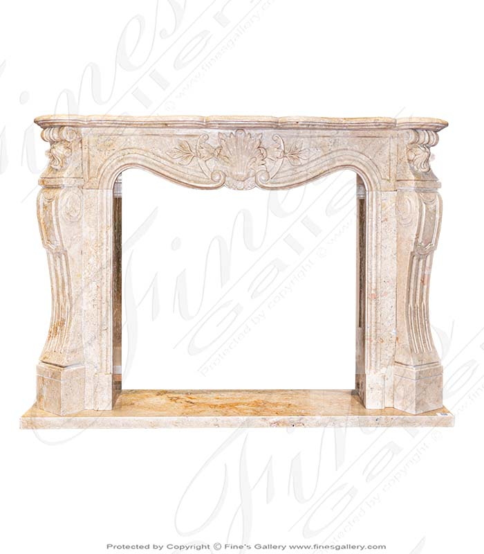 Traditional French Mantel