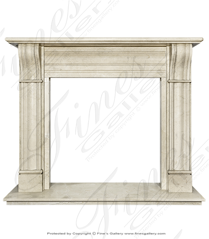 Cream Marble Surround
