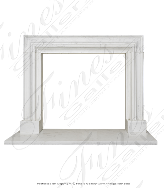 Statuary White Bolection Surround