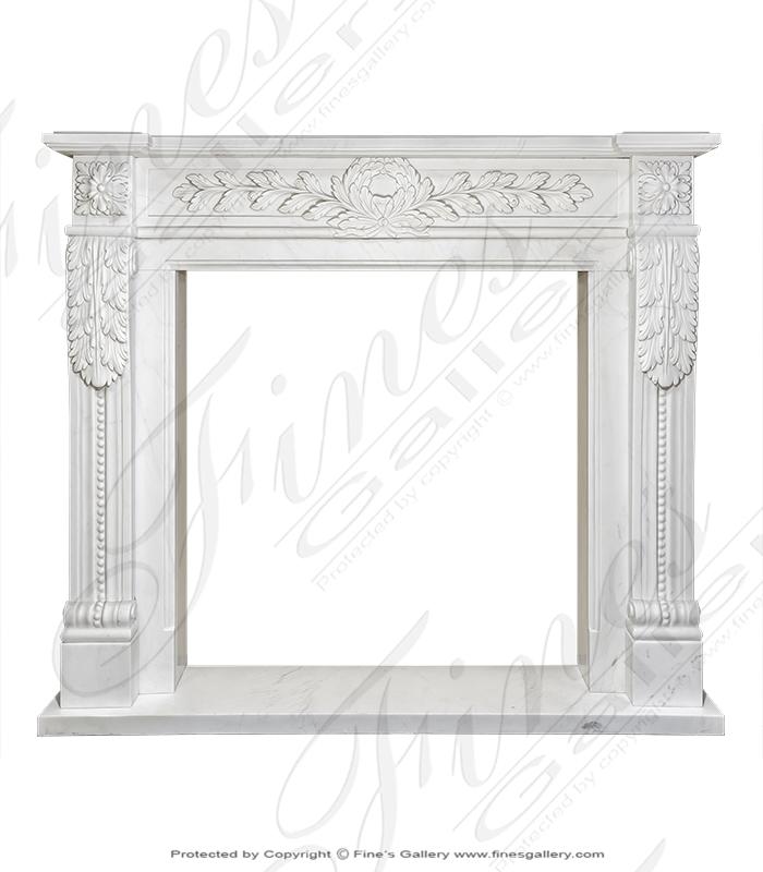 Classic French Regency Fireplace Mantel