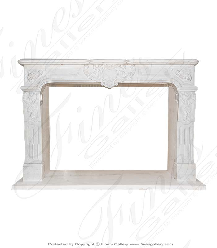 European Style Marble Fireplace