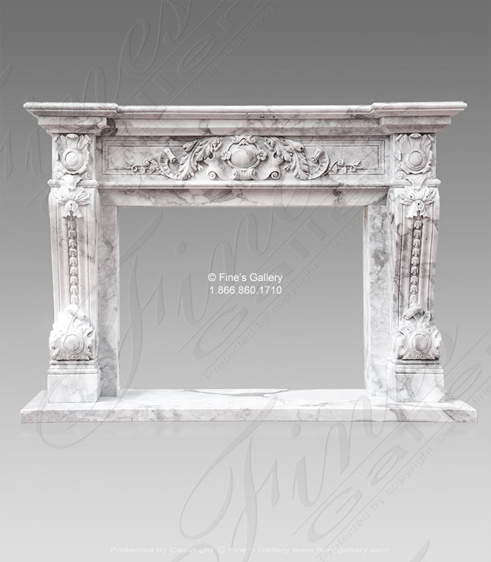 Italian Calacatta Marble Surround