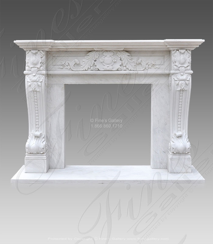 Luxurious Italian Louise XIV Marble Surround