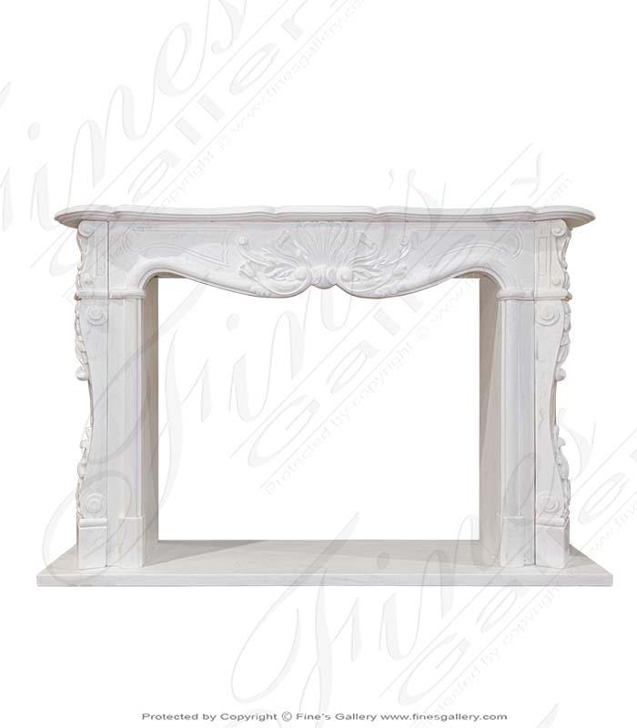 Elegant French Marble Surround