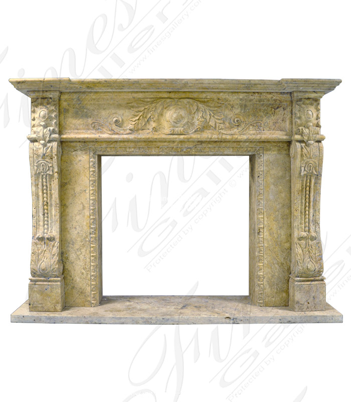 Antique Gold Travertine Surround