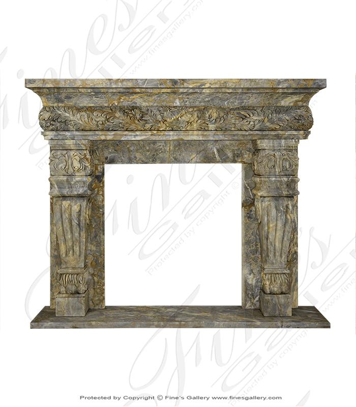 Italian Marble Mantel
