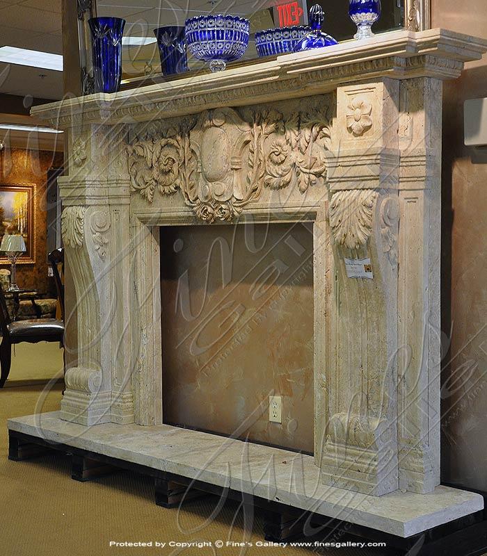 Opulent Beauty  Fireplace