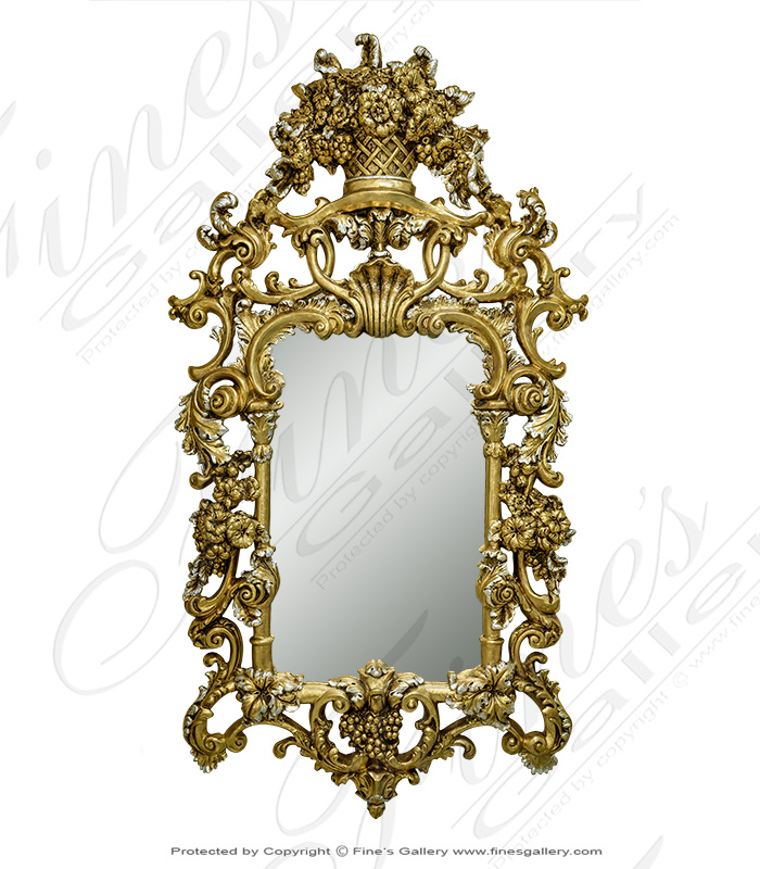 Stunning Gold Finished Mirror