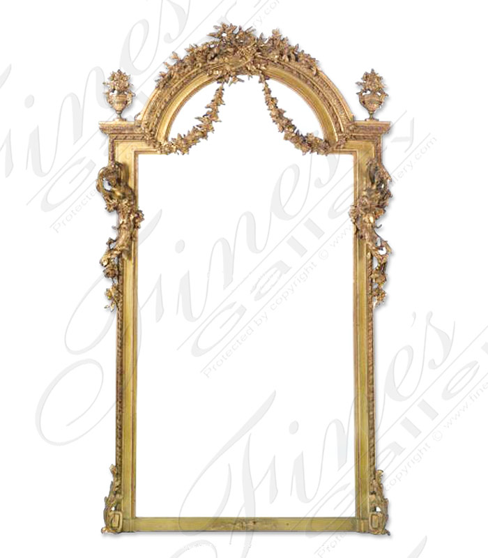 Stunning Louis XV Gold Mirror
