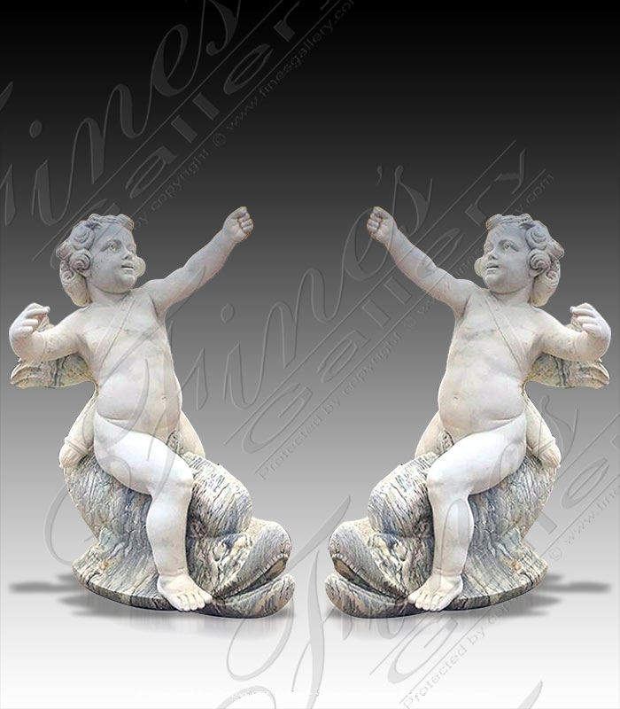 Antique Style Cherub Fish