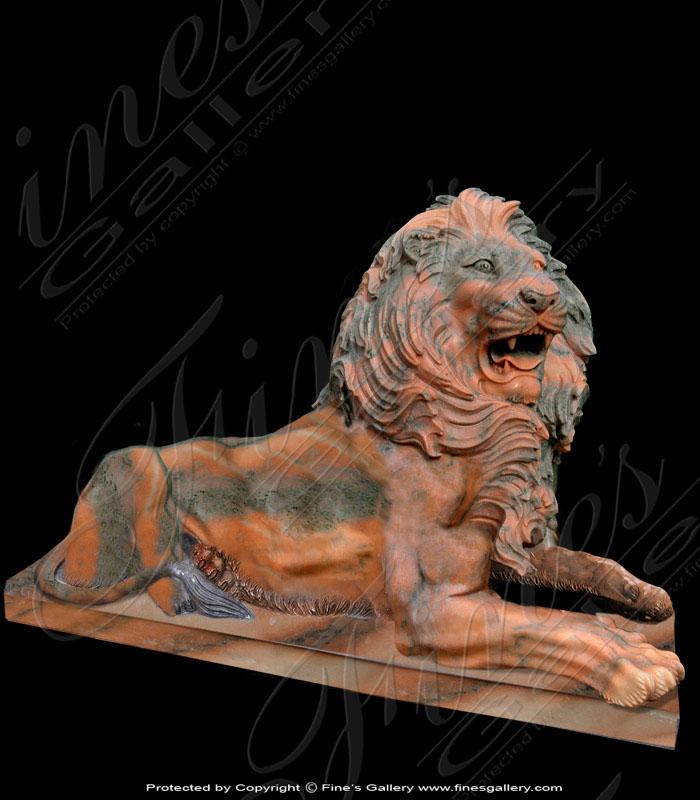 Rosetta Seated Lion