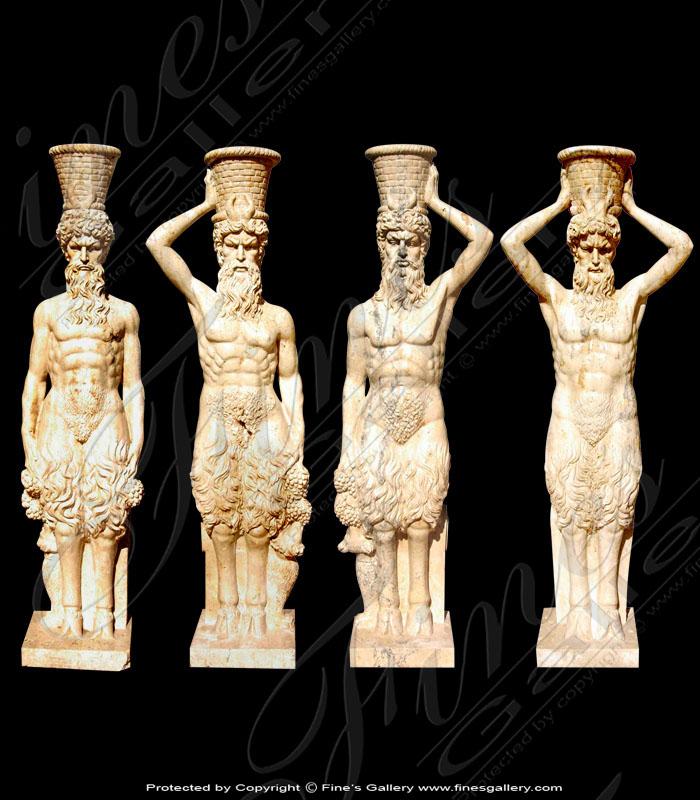 Marble Centaur Statues