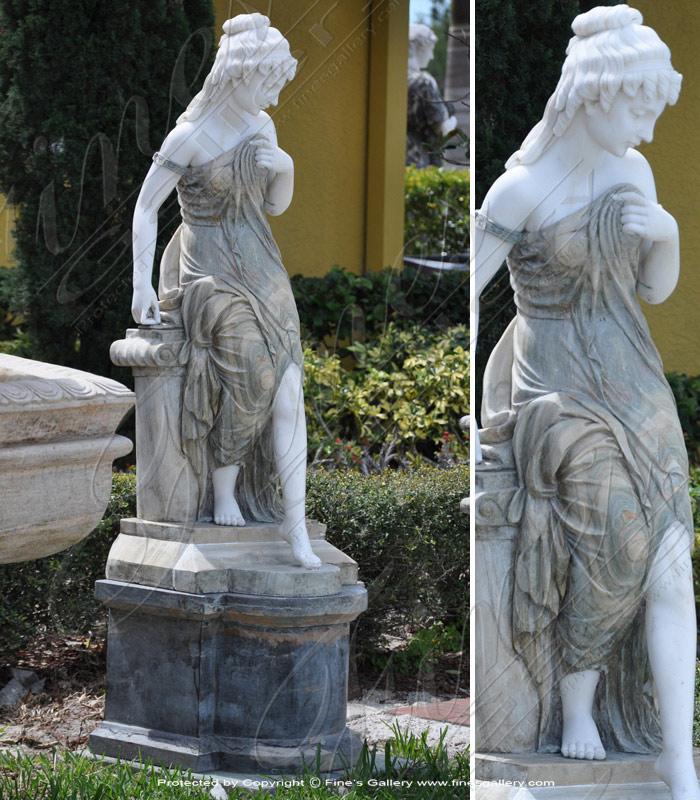 Green Enchantress Statue