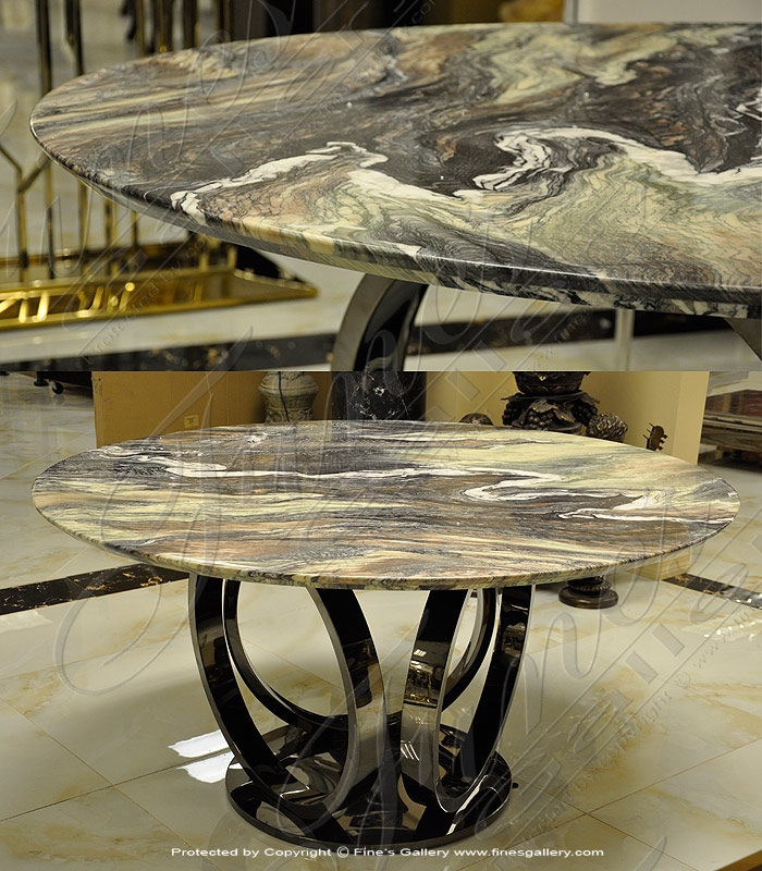 Exotic Granite Table - Polished