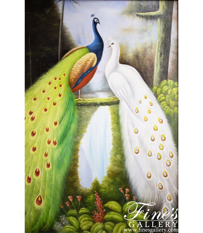 Birds of a Feather Canvas Painting