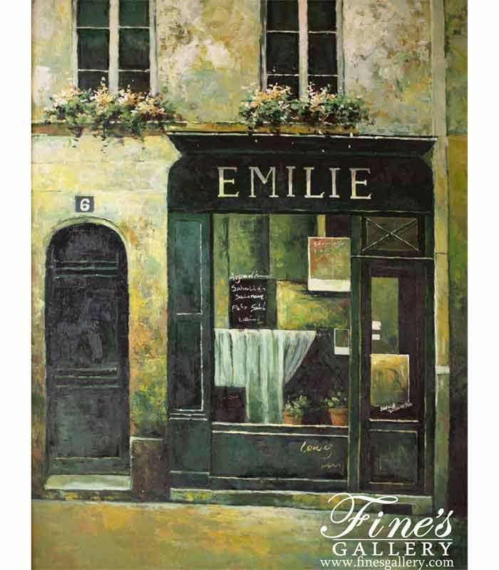 Emilie Canvas Painting