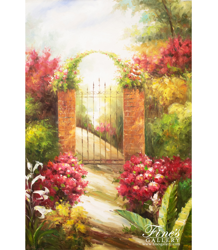 Golden Day Canvas Painting