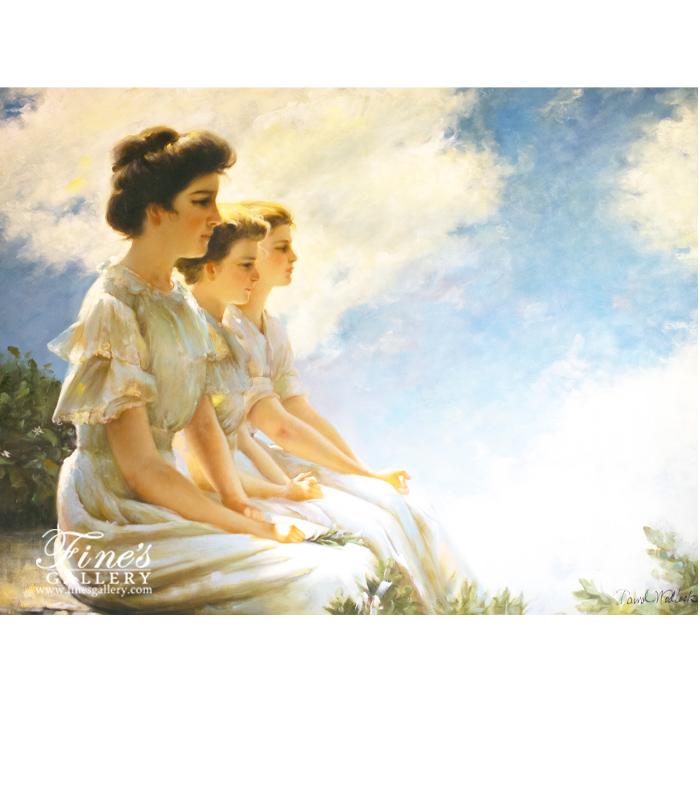 Calmness Canvas Painting