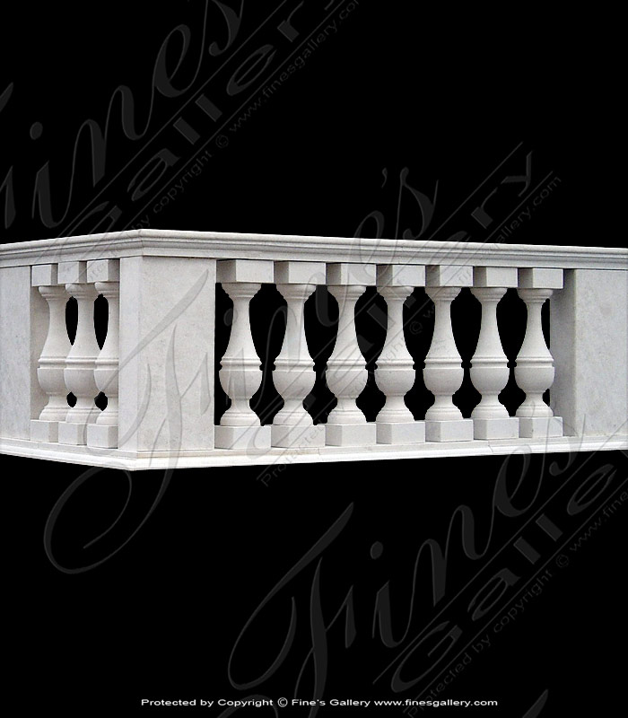 Marble Balusters  - White Marble Baluster - BAL-007
