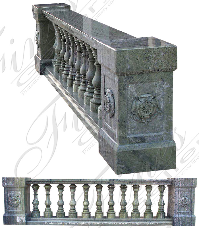 Marble Balusters  - New Zealand Green Baluster - BAL-008