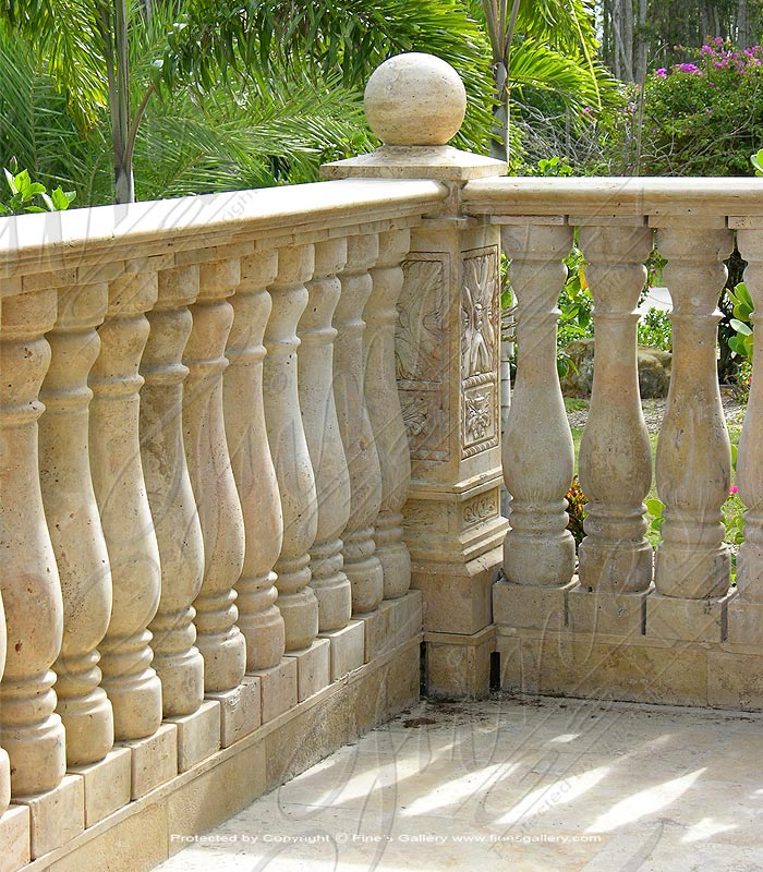 Marble Balusters  - Antique Style Marble Baluster - BAL-046