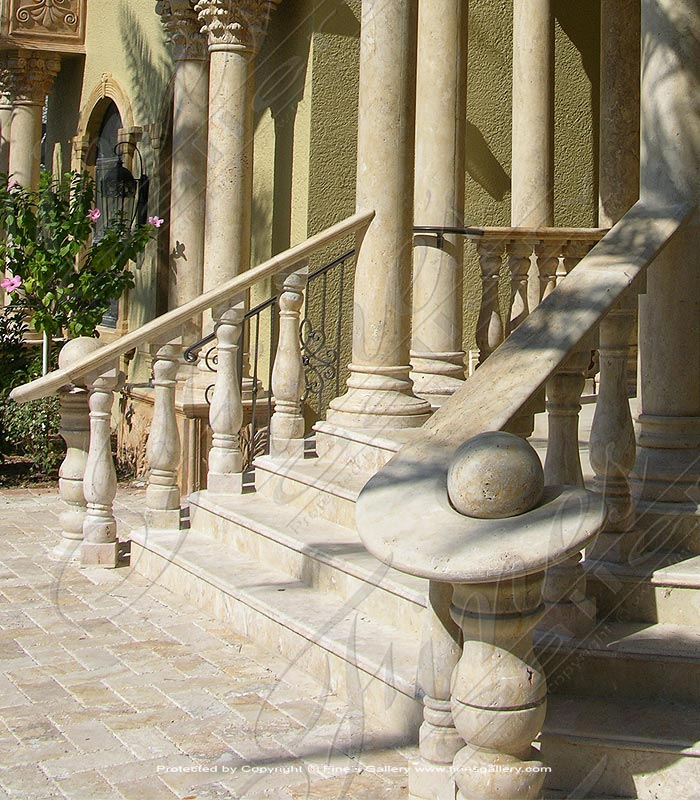 Marble Balusters  - Stair Case Marble Baluster - BAL-047