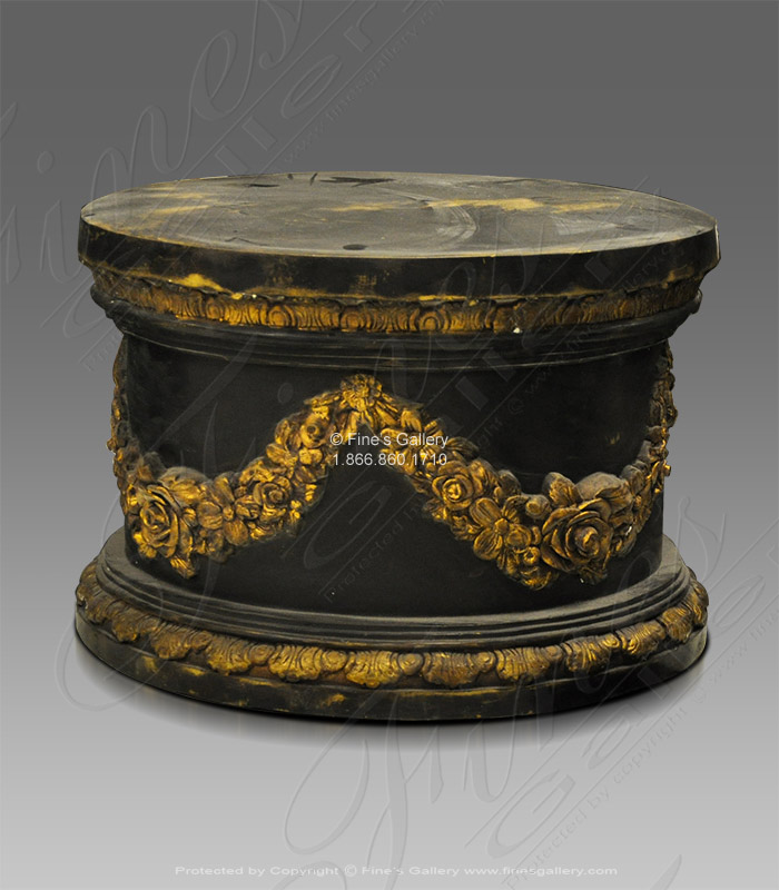 Bronze Bases  - Bronze Base Ornate Style - BB-106