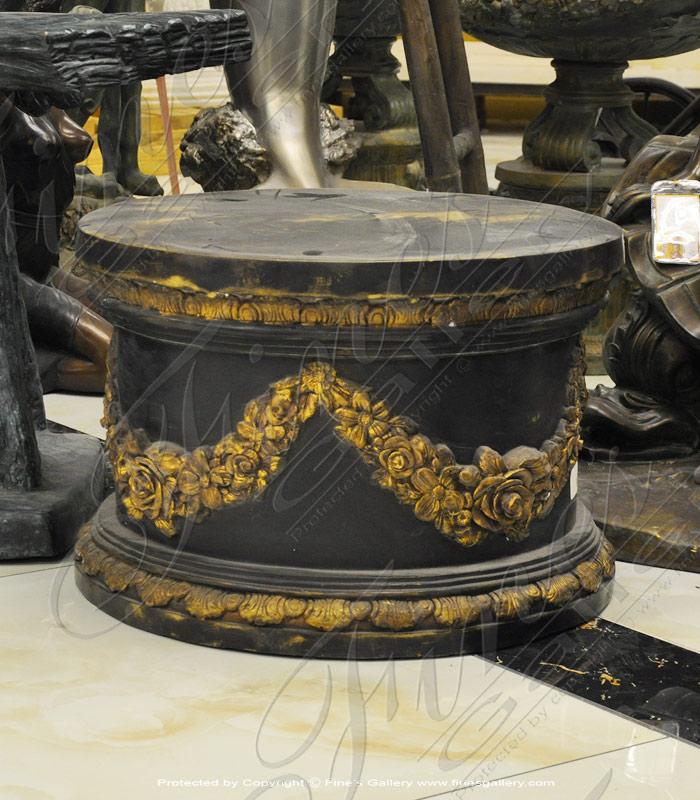 Bronze Base Ornate Style