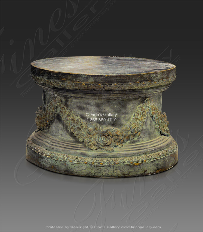 Bronze Bases  - Bronze Base Patina Color - BB-107