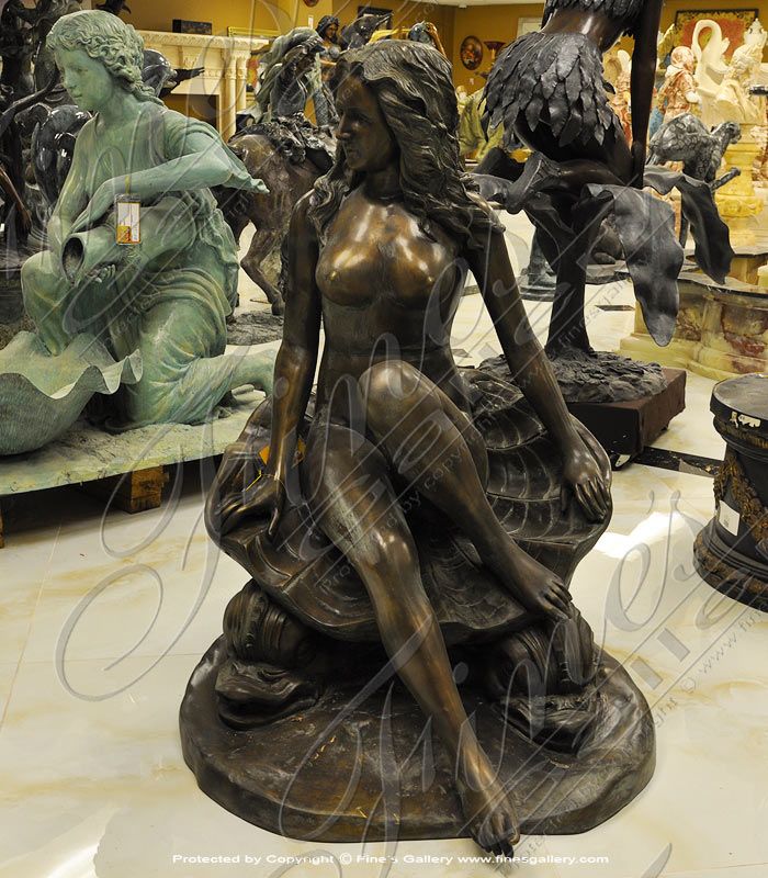 Bronze Fountains  - Seashore Maiden Fountain - BF-443