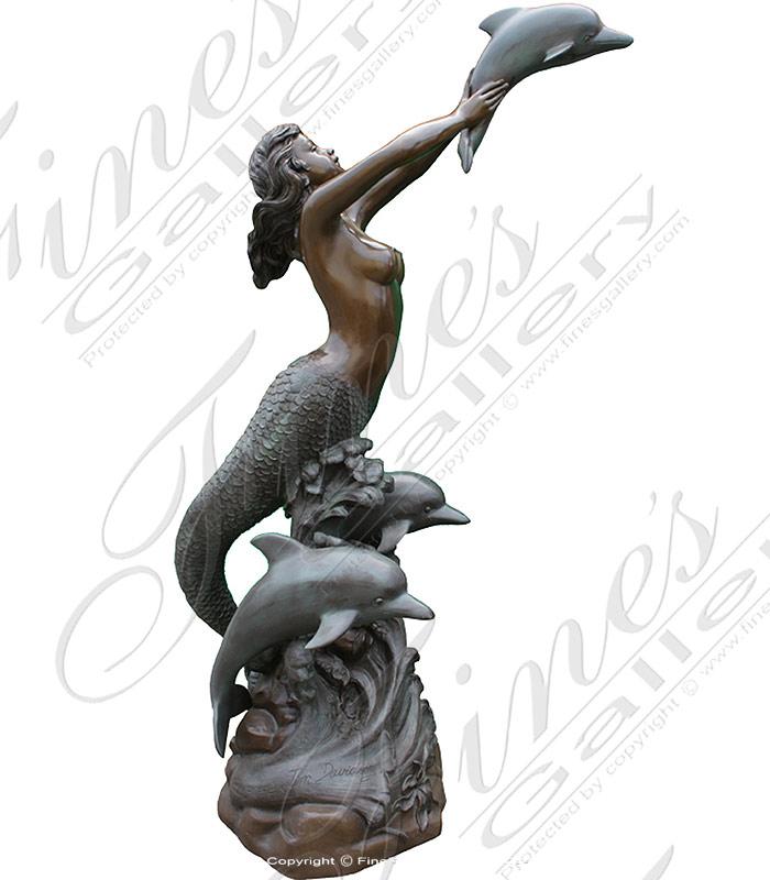 The Sea Goddess Bronze Fountain