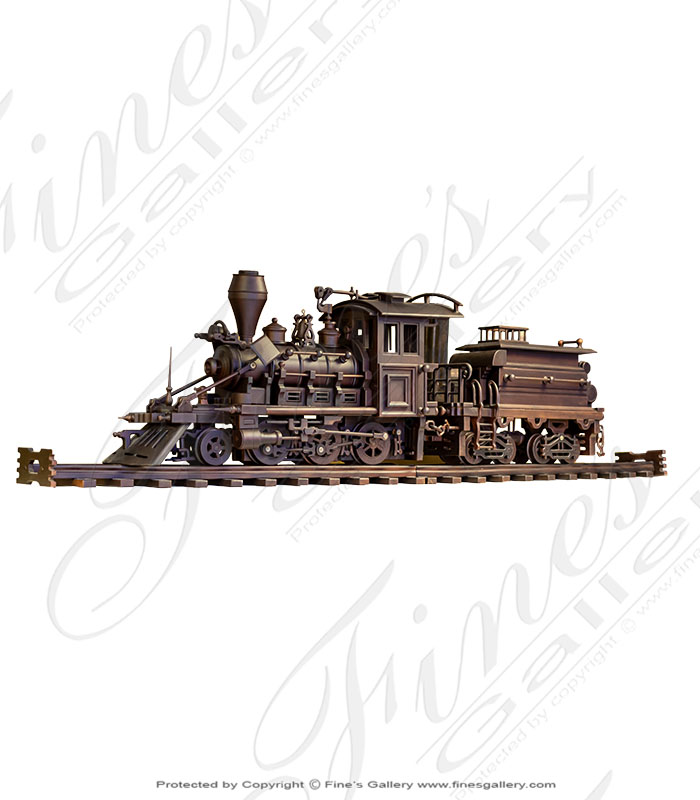 Bronze Statues  - Locomotive Train - BS-1570