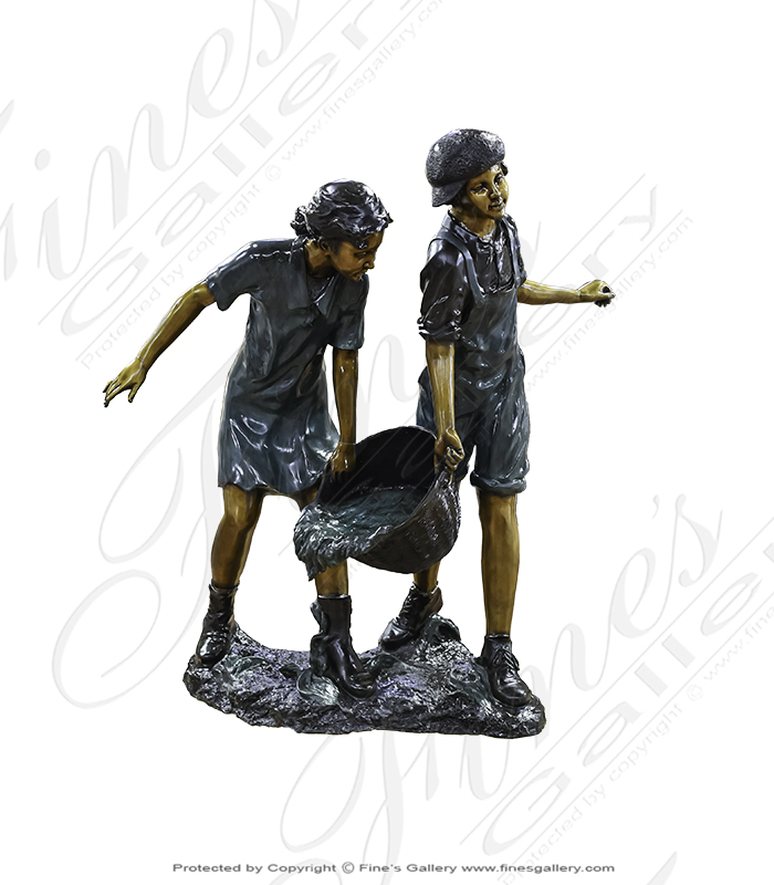 Bronze Fountains  - Clumsy Kids - BF-229