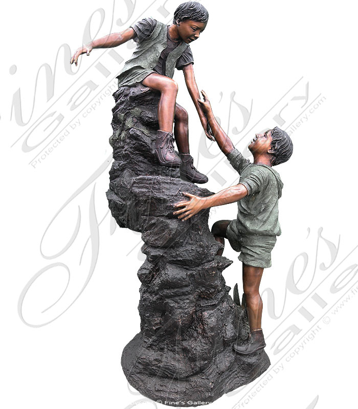 Bronze Fountains  - The Climbers - BF-239
