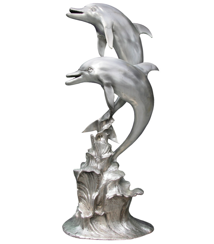Bronze Fountains  - Twin Dolphins - BF-265