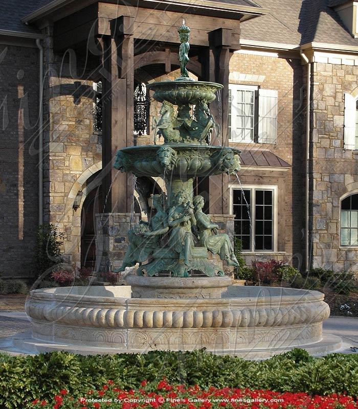 Bronze Fountains  - The Grandeur - BF-282