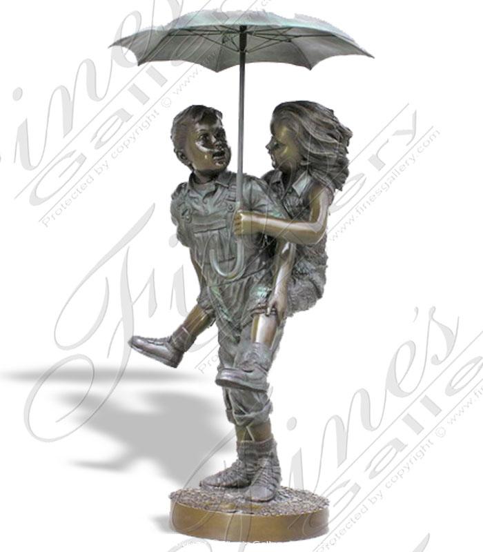 Bronze Fountains  - Under The Umbrella - BF-296