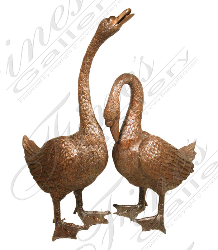 Bronze Fountains  - Bronze Geese - BF-385