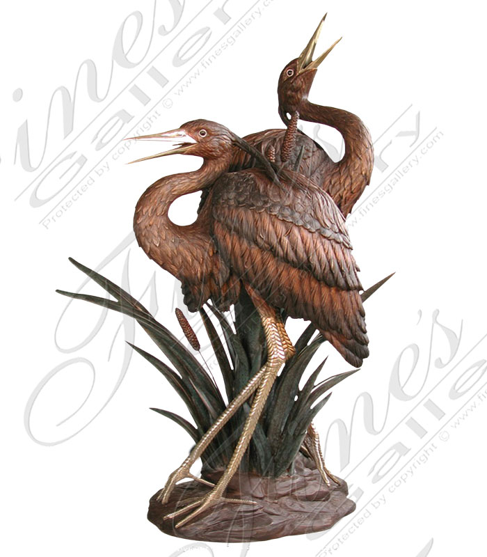 Bronze Fountains  - Bronze Fountain - BF-692