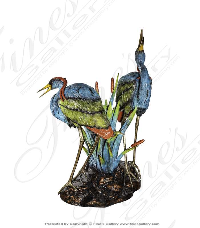 Bronze Fountains  - Bronze Birds - BF-285