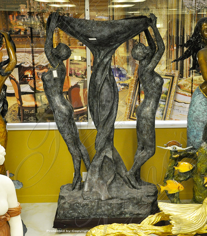 Search Result For Bronze Fountains  - Bronze Nude Female Fountain - BF-562