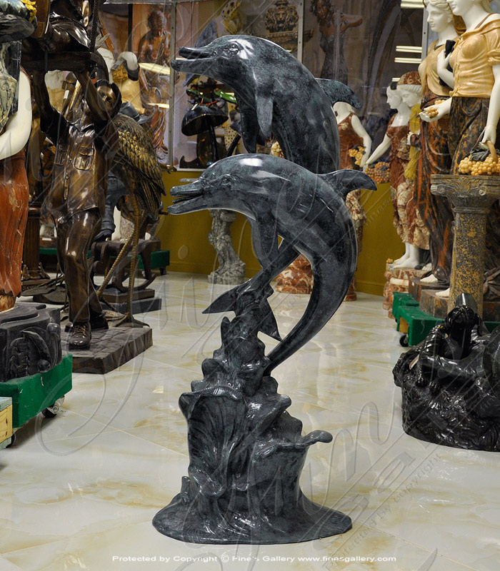 Bronze Fountains  - Bronze Dolphins - BF-755