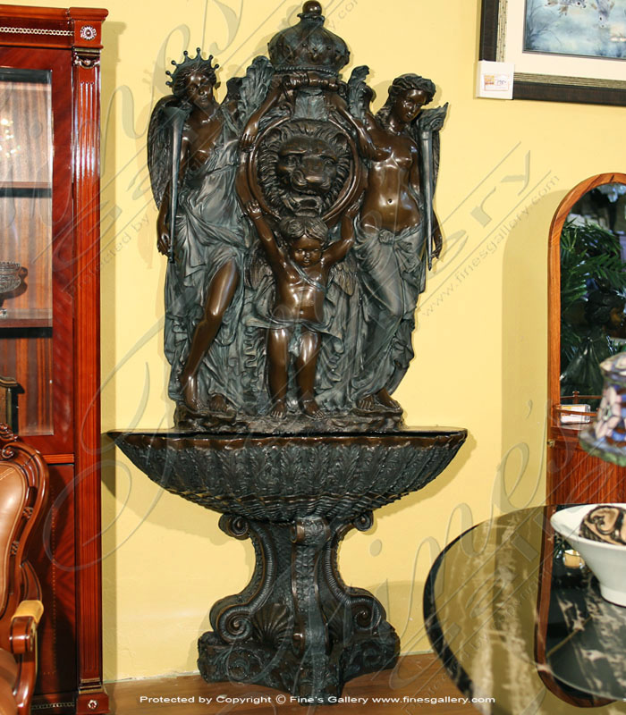 Bronze Fountains  - Bronze Fountain - BF-775