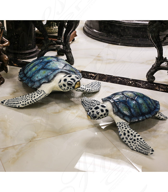 Search Result For Bronze Fountains  - Bronze Sea Turtle Fountain ( Pair ) - BF-781