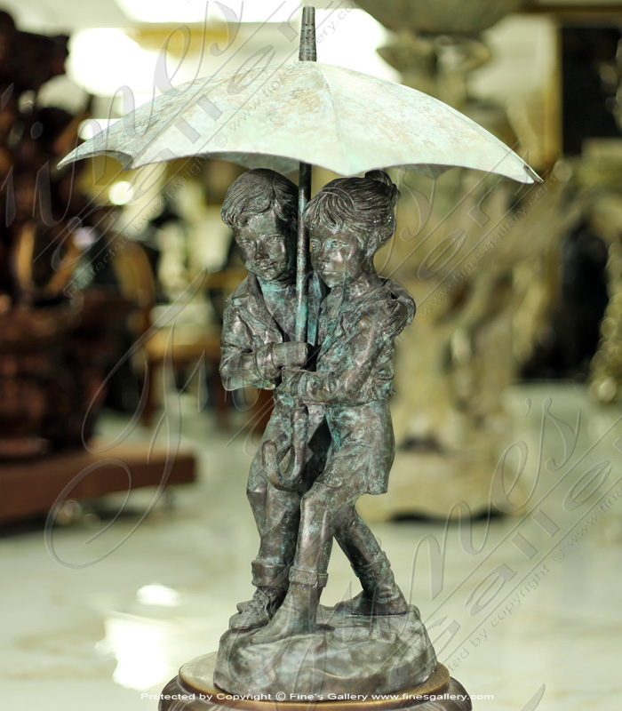 Bronze Fountains  - Bronze Fountain Children  - BF-789