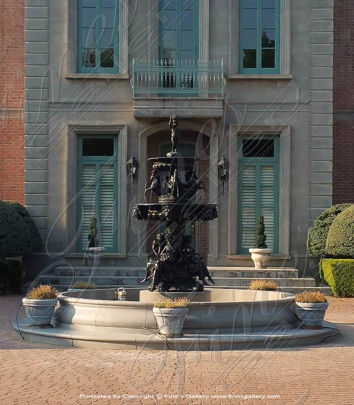 Bronze Fountains  - Bronze Granduer Fountain - BF-798