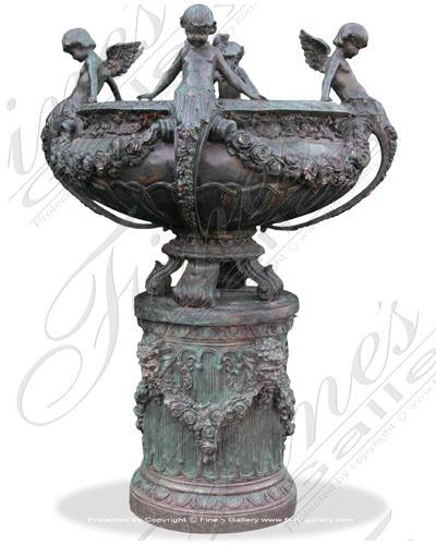 Bronze Planters  - Zion Planter - BP-110